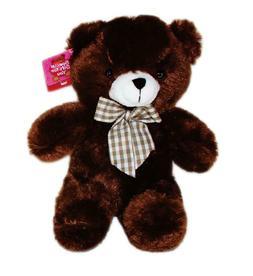 "9"" Brown Plush Teddy Bear Stuffed Animal Toy Valentine's Mot"