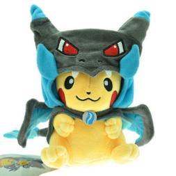 "9"" Pikachu Pokemon Center Plush TAGS Stuffed Animal Toy Char"