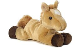 Aurora Plush Prancer Red Roan Horse Mini Flopsie 8""