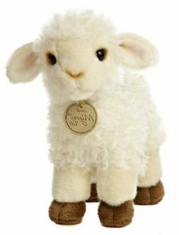 "Aurora World Miyoni Tots Baby Lamb Plush Toy 7"" High"