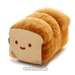 "BREAD 6"", 10"", 15"" Plush Pillow Cushion Doll Toy Gift Home B"