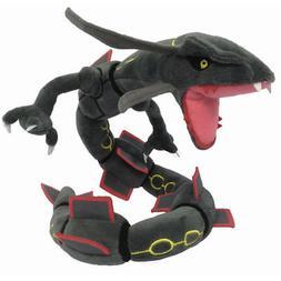 Black Rayquaza Pokemon Go Plush Toy Dragon Snake Stuffed Ani
