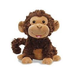Cuddle Barn Crackin' Up Coco Monkey Animated Musical Plush