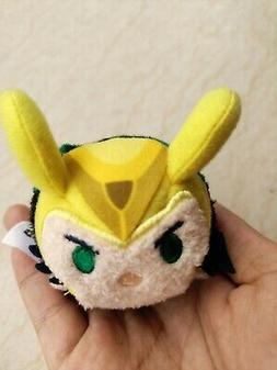 Disney authentic Tsum tsum mini Loki Marvel plush toy Gift