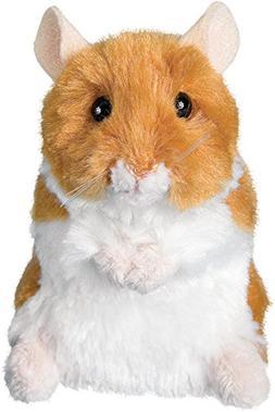 Douglas - Brushy Stuffed Hamster - 5 inches - Plush Hamster