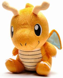 "Dragonite 6"" Pokemon Pocket Monster Plush Soft Toy Stuffed A"