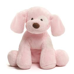 GUND Baby Spunky Dog Stuffed Animal Sound Plush, Pink, 8""