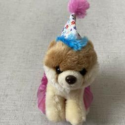 GUND Itty Bitty Boo #027 Birthday Tutu Dog Stuffed Animal Pl