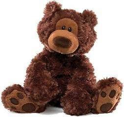 GUND Philbin Teddy Bear Stuffed Animal Plush, Chocolate Brow