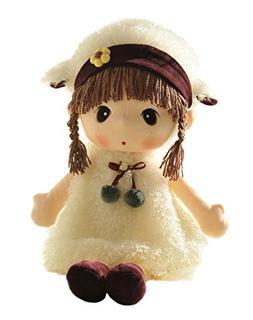 HWD Kawaii 17 inch Stuffed Plush Girl Toy Doll.Good Gift For