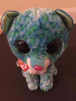 LEONA the LEOPARD TY BEANIE BOOS 6 INCH stuffed animal toy p