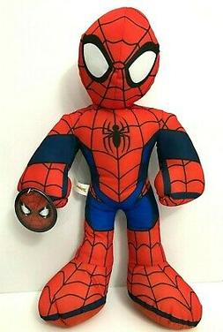 Large 13.5'' Ultimate Spiderman Plush Toy. Licensed Stuffed