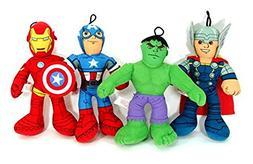 Marvel Avengers - Iron Man, Captain America, Thor and Hulk -