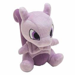 "Mewtwo 6"" Pokemon Pocket Monster Plush Toy Soft Animal Stuff"