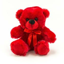 NEW Plush In A Rush Red Small Plush Toy Teddy Bears Stuffed