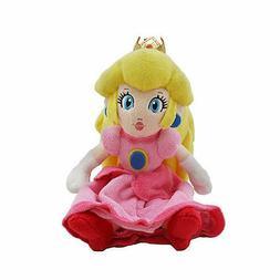 New Nintendo Super Mario Bros. Princess Peach Plush Doll Stu