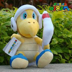 Nintendo Super Mario Bros Plush Toy Boomerang Bros Koopa 8""