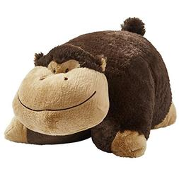 "Pillow Pets My My Silly Monkey - Large, Brown,; 18"" Stuffed"