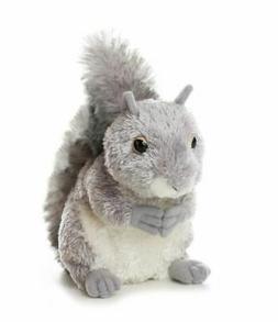 "Plush Nutty Gray Squirrel 6.5"""