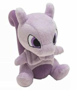"Pokemon Mewtwo Plush Stuffed Animal Toy 6"" US Seller"