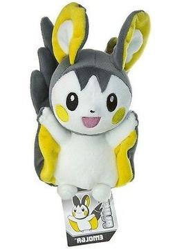 "Pokemon Plush Emolga 7.5"" Toy Nintendo Game Character Stuffe"