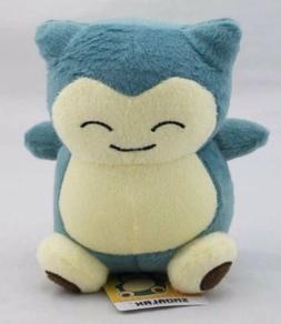 "Pokemon Snorlax Plush Stuffed Animal Toy 6"" US Seller"