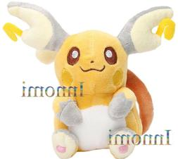 "Raichu 5.5"" Pokemon Soft Plush Figure Toy Stuffed Animal Dol"
