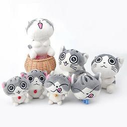 Super Cute Cat Plush Doll Toys Stuffed Animal Bolster Key ch