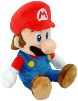 "Super Mario Plush - 8"" Mario Soft Stuffed Plush Toy"