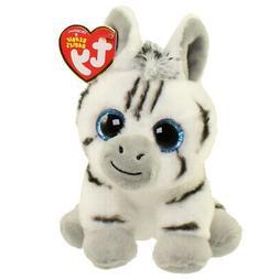 """TY Beanie Baby 6"""" STRIPES the Zebra Plush Stuffed Animal Toy"""