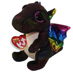 "Ty 6"" ANORA Dragon Beanie Boos Plush Stuffed Animal w/ MWMT'"
