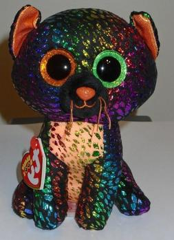 "Ty Beanie Boos ~ SPELLBOUND the 6"" Halloween Cat  NEW"