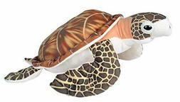 "Wild Republic Hawksbill Sea Turtle Plush Toy 23"" Long"