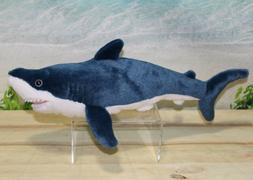 "Wild Republic MAKO SHARK 13"" Plush Cuddlekins Stuffed Ocean"
