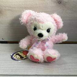 "A75 Amuse Pink Classical Teddy Bear Plush! 8"" Stuffed Toy Mi"