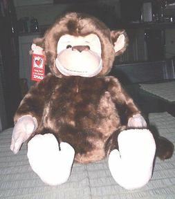 GANZ ACCESSORIES & PLUSH ANIMALS  - Mayson  -  Monkey   -