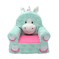 Animal Adventure Sweet Seats | Teal Unicorn Children's Chair