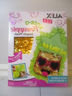 Alex D.I.Y. Pineapple Sequin Plush Toy Great Gift or Hobby A