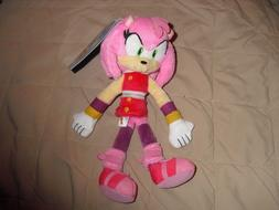 amy sonic the hedgehog plush TOMY sonic boom toy nwt