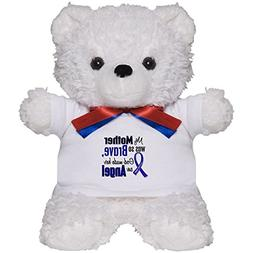 CafePress - Angel 1 Mother Colon Cancer - Teddy Bear, Plush