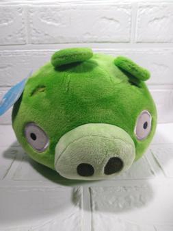 "Angry Birds Green Pig 5"" Plush NEW w tagsl Bad Piggies NO SO"