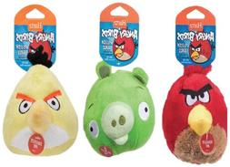 Hartz Angry Birds Plush Ball with Sound Chip, 3-Inch, Pack o
