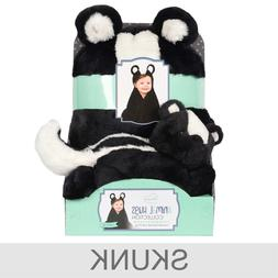 Little Miracles Animal Hooded Blanket and Plush Toy Set, Thr