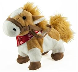 Cuddle Barn Rusty the Painted Pony Animated Musical Plush To