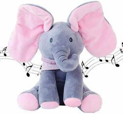 Animated Talking Singing Elephant Plush Stuffed Child Toy Gi