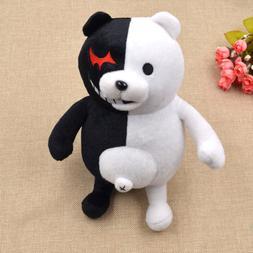Anime Dangan Ronpa Mono Kuma Monokuma White&Black Bear Doll