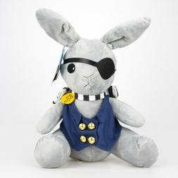 Anime Kuroshitsuji Ciel Phantomhive Rabbit Plush Toy Doll 11