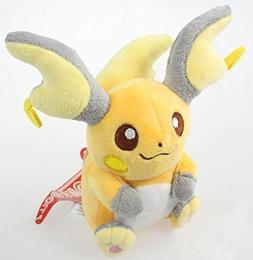 Anime Raichu Soft Plush Figure Toy Stuffed Animal 5.5 Inch C