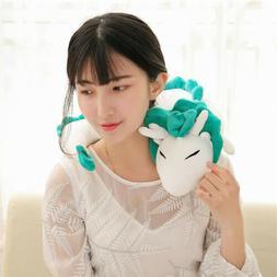 Anime U-Shape Neck Pillow Spirited Away White Dragon Haku An
