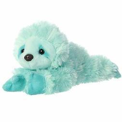 """Aurora - Mini Flopsie - 8"""" Minty Sloth Plush Toy Animal"""